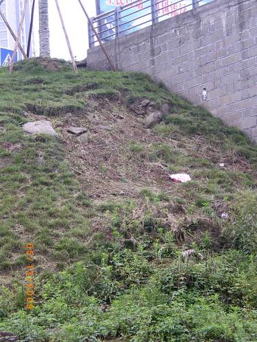 erosion on hill