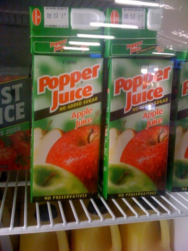 pooper juice