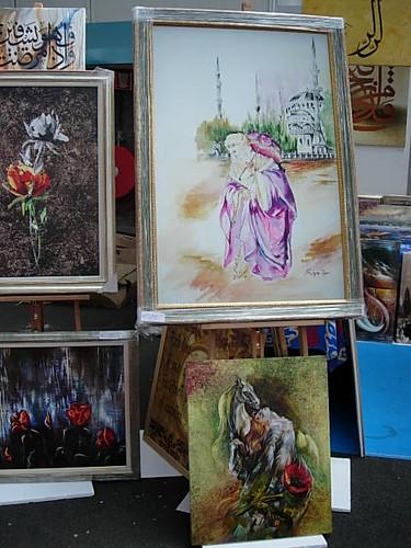 yagli boya tablolar