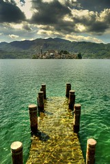 Back In Orta San Giulio (Fabio Montalto) Tags: sky italy lake mountains clouds photomatix mywinners abigfave aplusphoto diamondclassphotographer flickrdiamond platinumheartaward goldstaraward capturenx2 platinumbestshot