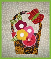 Bunny Hill's BOM #5 (Goosie Girls) Tags: quilt handmade sewing bom applique bunnyhill