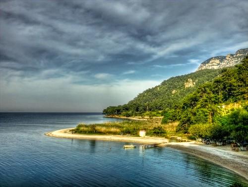 Çınar Beach, Akyaka ... by Nejdet Düzen.