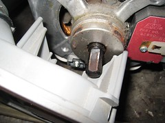 Rusty Motor Shaft on a Whirlpool Direct Drive Washer Motor