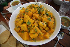 Gujarati Fenugreek-Scented Pumpkin Curry