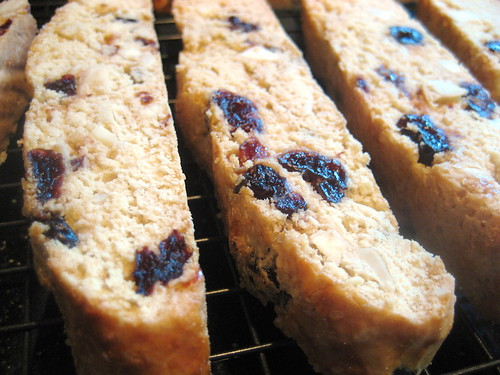 biscotti baked