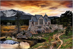 The House Church (Extra Medium) Tags: sunset church rural scenery colorado searchthebest rockymountains hdr rockymountainnationalpark longlivemitch