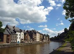 Bord de Sambre à Namur (BrigitteChanson) Tags: belgium belgique maisons belgië rivière ciel nuages namur wallonie namen sambre halage abigfave platinumphoto absolutelystunningscapes