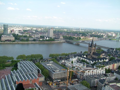 cologne cathedral Rhine View