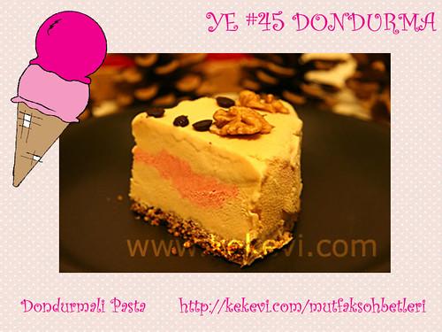 Dondurmali Pasta - Kek Evi