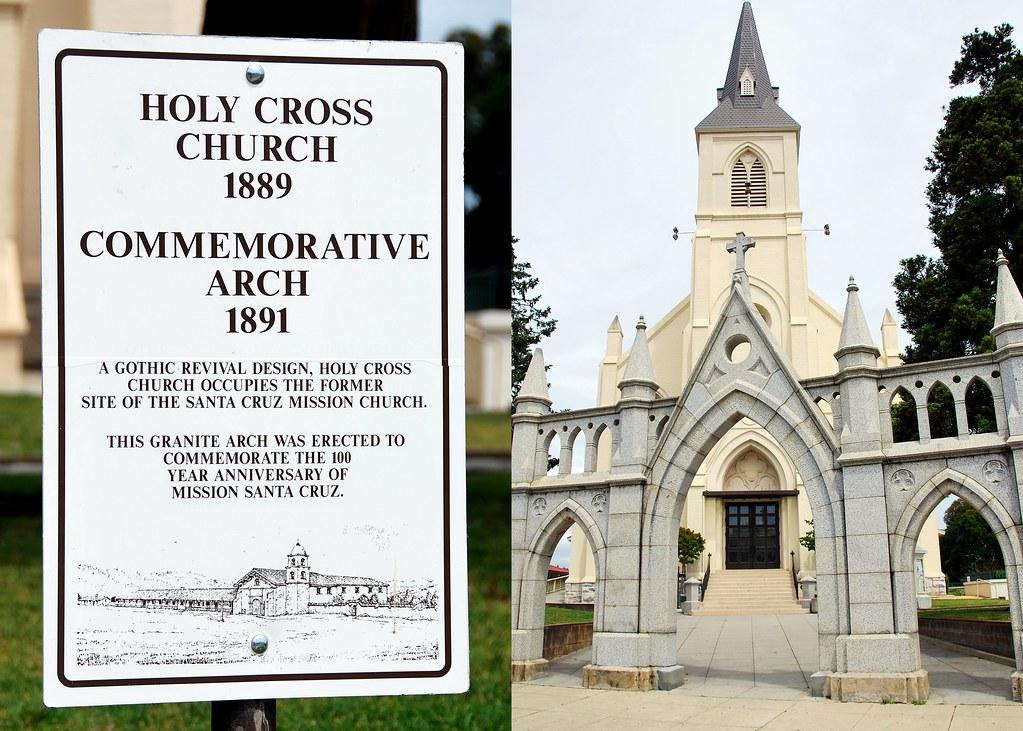 Holy Cross Church, Santa Cruz, CA