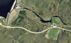 Aultguish Inn (Neil F King) Tags: scotland map dam reservoir a835 aultguish