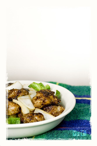 The Budding Chef: Black Pepper Chicken