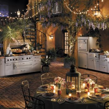 Outdoor Kitchens – A Hot New Trend in Kitchen Designs