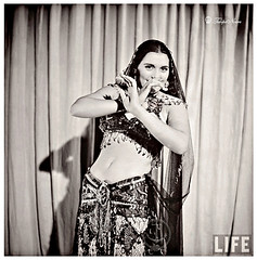 Egyptian Dancer & Film Star Tahia Carioca By Bob Landry, 1942
