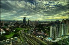Panamá City (Seracat) Tags: road city sol hotel carretera alba cité central ciudad awake panamá ciutat surt panamà amèrica