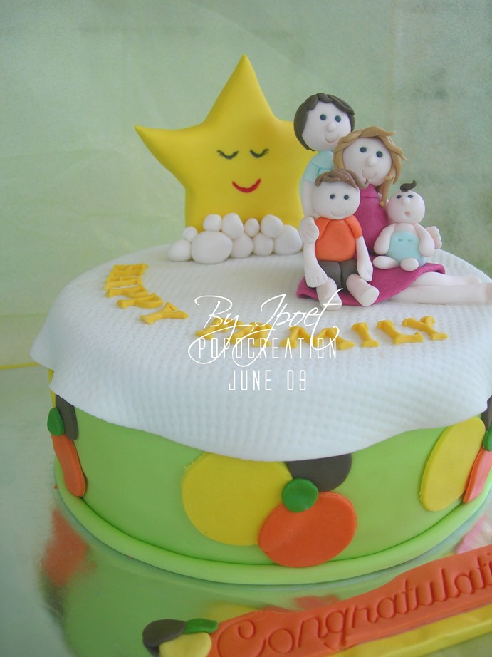 Happy Family Cake