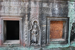 DSC_0647 (ASR Photos) Tags: tree tower abandoned stone temple mural ruins cambodia khmer buddhist roots buddhism jungle siem reap damage khan angkor wat buddah rubble preah overrun