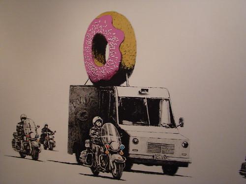 banksy wallpaper. Banksy Wallpaper - Donuts