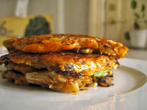 stack of korean pancakes by atherosclerosis.