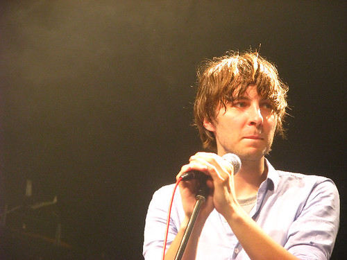 Phoenix frontman Thomas Mars @ Phoenix: photo by Michael Ligon