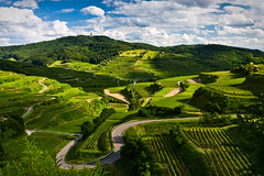 Kaiserstuhl Spring Idyll (andywon) Tags: green nature germany landscape deutschland spring hills vineyards roads idyll kaiserstuhl texaspass totenkopf badenwrttemberg oberbergen explored