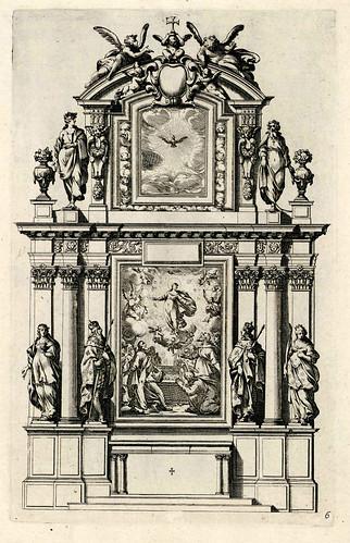002-Livre d'architecture d'autels, et de cheminees- Barbet Jean-1633- © Institut national d'histoire de l'art