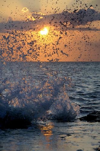 zonsondergang-beweging