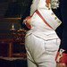 Jacques-Louis David, The Emperor Napoleon in His Study at the Tuileries with detail of torso