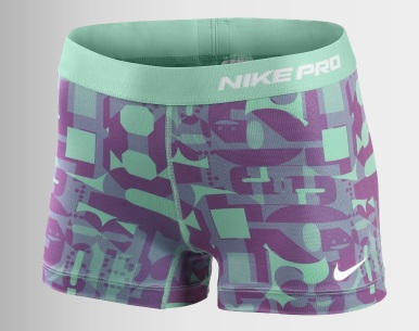 Nike Graphic Compression Shorts