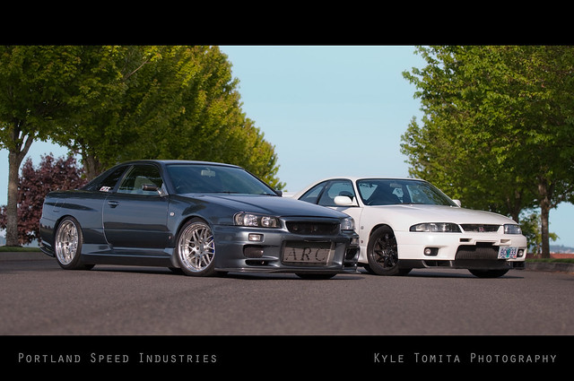 GT-R's: R34 and R33