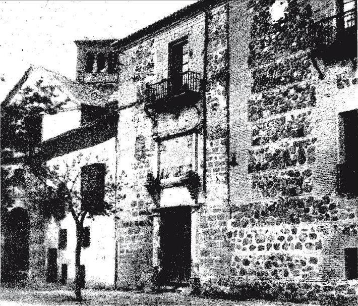 Palacio de Fuensalida en los años 50. Diario ABC, 27-9-1958