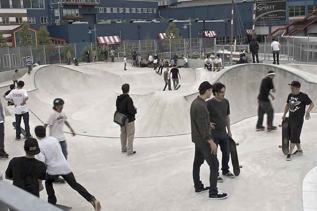 NYC skateparks - Chelsea Pier 62 skate park
