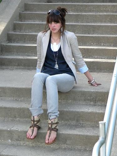 Gray Jeans 4