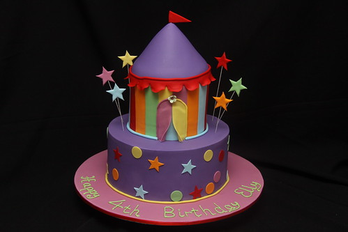 Elly's 4th Birthday - Carnival theme
