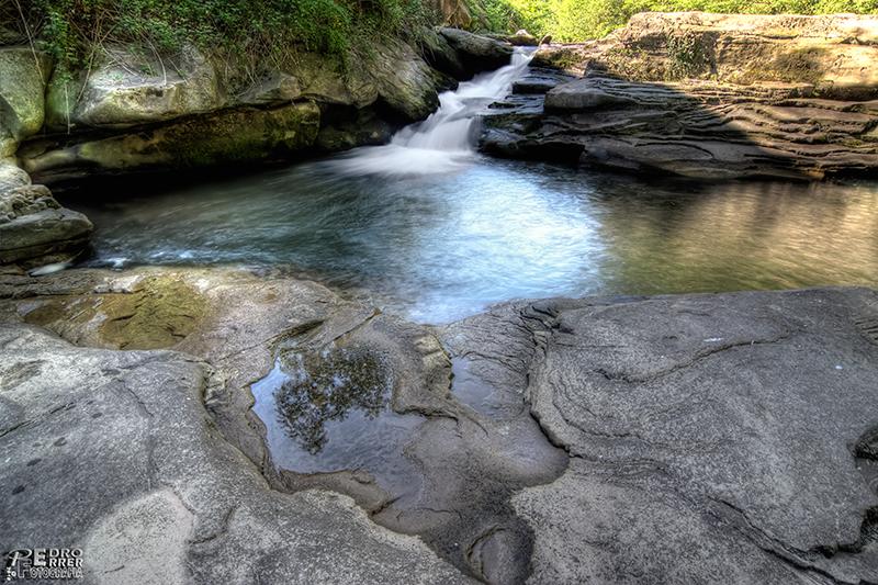 Primer paseo fotográfico por Molledo - Cascada rio Besaya en Silió