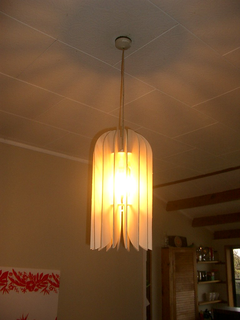 'Kea' pendant lightshade come table lamp