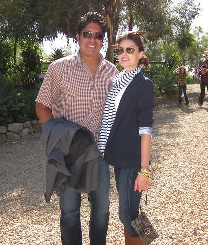 Gordon Vasquez, Samantha Gutstadt, Dr. Frank Ryan Charity/Birthday Event at Bony Pony Ranch