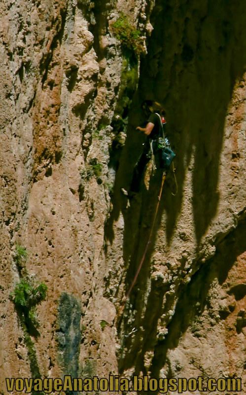 Rock Wall Climbing at Kaputash Canyon