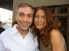 Scott Lowell and Michelle Clunie