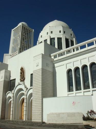 Ambato's newish cathedral...