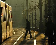 amsterdam (wojofoto) Tags: amsterdam damrak wojofoto wolfgangjosten tram licht light