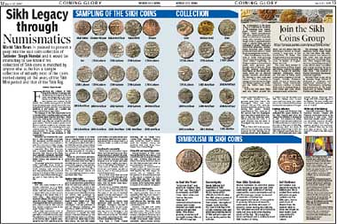 Sikh Legacy through Numismatics