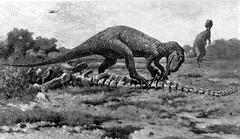 myth (nicktassone) Tags: illustration photoshop landscape fun dinosaur dinosaurs trex carnivore hoax makesomethingcooleveryday