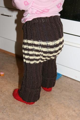 Strikka bukse