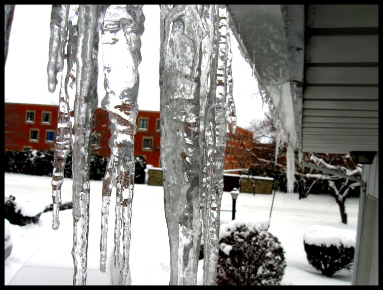 Icicles Galore!