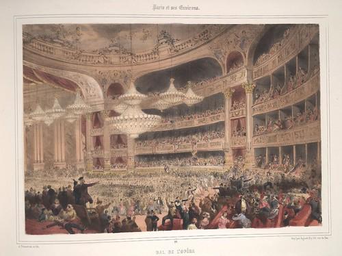 018-Paris- Baile en el teatro de la Opera 1858