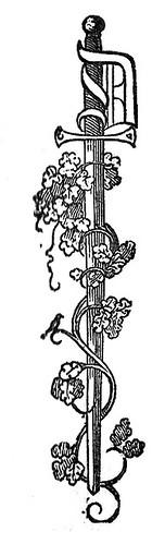 Decorative Sword Initial