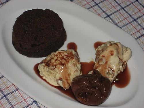 CAKE DE CHOCOLATE CON BISCUIT DE HIGOS
