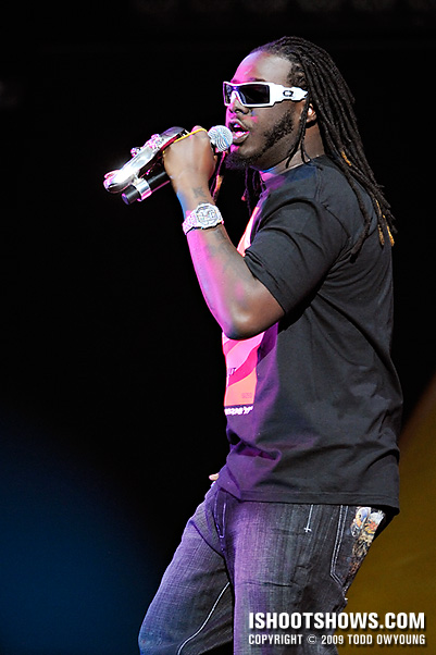 T-Pain @ the Chaifetz Arena -- 2009.01.08