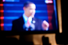 Change {020/365} (stefanrechsteiner) Tags: usa apple canon eos us washington tv aperture live president blurred outoffocus change 60mm 2008 speech unscharf 2009 obama inauguration unsharp iphone barack 50d project365 vereidigung cinemadispaly prasident